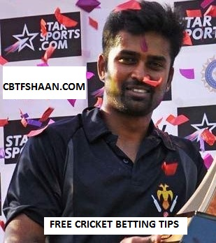 Free Cricket Betting Tips Online Help and Guide from Betting Expert Cbtf Shaan of Hubli Tigers vs Belagavi Panthers Kpl T20 20th September 2017 at Hubli