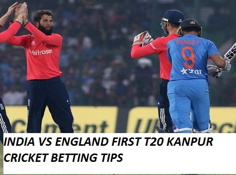 India vs England First Ttwenty Kanpur Cricket Betting Tips,