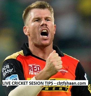 Free Cricket Session Betting Tips Hyderabad vs Bangalore T20 Hyderabad Ipl T20 2017 - cbtf shaan