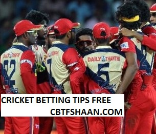 Free Cricket Betting Tips Online Help and Guide from Cricket Betting Tips Expert Cbtf Shaan Chepauk Super Gillies vs Lyca Kovai Kings Tnpl T20 17th August 2017 at Tirunelveli