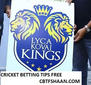 Free Cricket Betting Tips Online Help and Guide from Cbtf Shaan Lyca Kovai Kings vs Madurai Super Giants Tnpl T20 10th August 2017 at Dindigul
