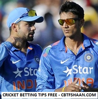 Free Cricket Betting Tips Online Help and Guide from Cricket Betting Tips Expert Cbtf Shaan of India vs Srilanka 3rd Odi 27th August 2017 At Pallekele