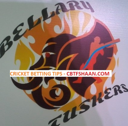 Free Cricket Betting Tips Online Help and Guide from Cbtf Shaan Bellary Tuskers vs Bengaluru Blasters Kpl T20 16th September 2017 at Hubli