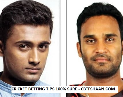 Free Cricket Betting Tips Online Help and Guide from Cbtf Shaan of Mysuru Warriors vs Bellary Tuskers Kpl T20 10th September 2017 at Mysore