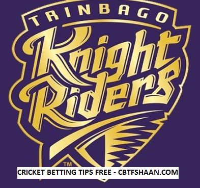 Free Cricket Betting Tips Online Help and Guide from Cricket Betting Tips Expert Cbtf Shaan of Cpl T20 2017 Final 9th September 2017 at Trinidad