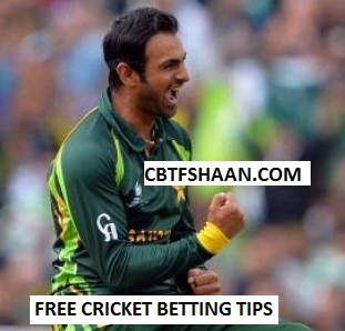 Free Cricket Betting Tips Online Help and Guide from Cricket Betting Tips Expert Cbtf Shaan of Pakistan vs World Xi 3rd T20 15th September 2017 At Lahore