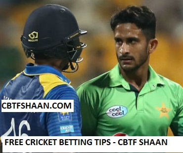 Free Cricket Betting Tips Online Help and Guide from Cricket Betting Tips Expert Cbtf Shaan of Pakistan vs Srilanka 4th Odi 16th October 2017 at Abu Dhabi