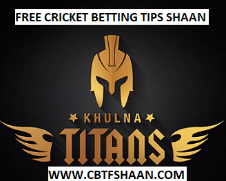 Free Cricket Betting Tips Online Help and Guide Betting Tips Expert Cbtf Shaan of Khulna Titan vs Chittagong Vikings Bpl T20 17th November 2017 at Dhaka