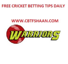 Free Cricket Betting Tips Online Help and Guide from Cricket Betting Tips Expert Cbtf Shaan of Dolphin vs Warriors Ram Slam T20 22nd November 2017 At Durban
