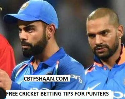 Free Cricket Betting Tips Online Help and Guide from Cricket Betting Tips Expert Cbtf Shaan of India vs Newzealand 2nd T20 4th November 2017 At Rajkot