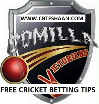 Free Cricket Betting Tips Online Help and Guide from Expert Cbtf Shaan of Comilla Victorian vs Rangpur Riders Bpl T20 2nd December 2017 at Dhaka