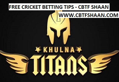 Free Cricket Betting Tips Online Help and Guide from Tips Expert Cbtf Shaan of Khulna Titan vs Rangpur Riders Bpl T20 Eliminator 8th December 2017 at Dhaka