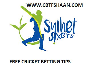 Free Cricket Betting Tips Online Help and Guide from Tips Expert Cbtf Shaan of Sylhet Sixers Vs Chittagong Vikings Bpl T20 3rd December 2017 at Dhaka