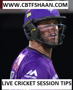 Live Cricket Session or Fancy Tips of Hobart Hurricanes Vs Melbourne Renegades Big bash T20 21st December 2017 at Hobart with all other free cricket betting tips on cbtf shaan website.