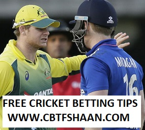Free Cricket Betting Tips Online Help and Guide from Cricket Betting Tips Expert Cbtf Shaan of Australia vs England 3rd Odi 21st January 2018 at Sydney