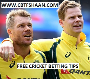 Free Cricket Betting Tips Online Help and Guide from Cricket Betting Tips Expert Cbtf Shaan of Australia vs England 5th Odi 28th January 2018 at Perth