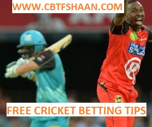 Free Cricket Betting Tips Online Help and Guide from Cricket Betting Tips Expert Cbtf Shaan of Brisbane Heat Vs Melbourne Renegades Big bash T20 27th January 2018 at Brisbane