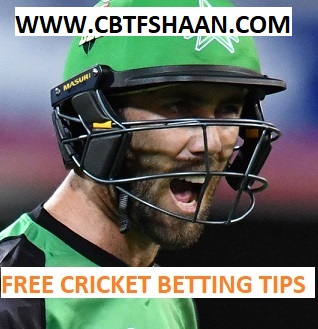 Free Cricket Betting Tips Online Help and Guide from Cricket Betting Tips Expert Cbtf Shaan of Melbourn Star Vs Melbourn Renegades Big bash T20 6th January 2018 at Melbourn