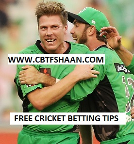 Free Cricket Betting Tips Online Help and Guide from Cricket Betting Tips Expert Cbtf Shaan of Melbourne Star Vs Sydney Sixer Big bash T20 16th January 2018 at Melbourne