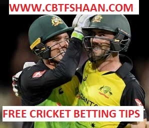 Free Cricket Betting Tips Online Help and Guide from Cricket Betting Tips Expert Cbtf Shaan of Australia Vs England Triseries T20 10th Feb 2018 at Melbourne