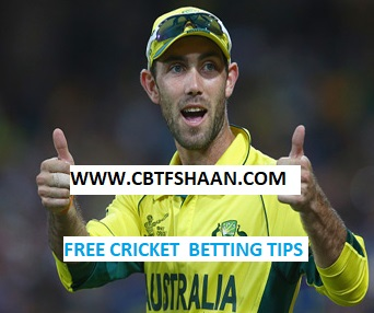 Free Cricket Betting Tips Online Help and Guide from Cricket Betting Tips Expert Cbtf Shaan of Australia Vs England Triseries T20 7th Feb 2018 at Hobart