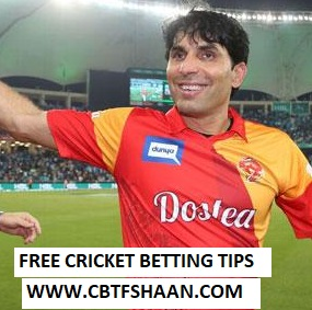 Cricket Betting Tips Free Online Help of Islamabad Vs Peshawar T20