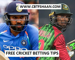 Free Cricket Betting Tips of India Vs Bangladesh T20 14th March 2018 at Colombo