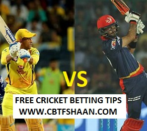 Free Cricket Betting Tips Online Help and Guide from Cricket Betting Tips Expert Cbtf Shaan of Chennai Vs Delhi IPL T20 30th Aprill 2018 At Pune