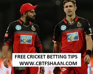 Free Cricket Betting Tips of Bangalore Vs Delhi IPL T20 21st Aprill 2018 At Bangalore