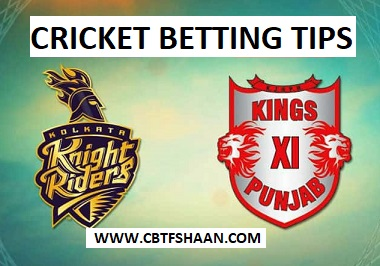 Free Cricket Betting Tips of Kolkata Vs Punjab IPL T20 21st Aprill 2018 At Kolkata