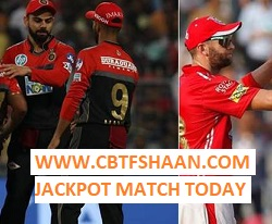 Jackpot Mtach Ipl T20 2018 Cricket Prediction of Today - Cbtf Shaan