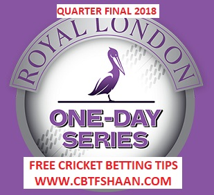 Essex Vs Yorkshire Royal London Odi Quarter Final 14th June 2018
