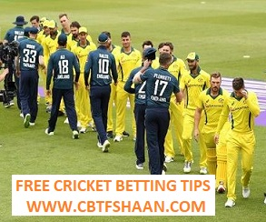 Free Cricket Betting Tips Online Help and Guide from Cricket Betting Tips Expert Cbtf Shaan of England Vs Australia 2nd Odi 16th June 2018 at Cardiff