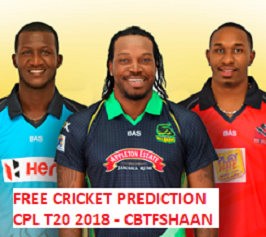 Cpl T20 2018 Or Caribbean Premier League T20 2018 Cup Winner Betting Tips Preview