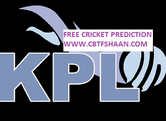 Cricket Betting Tips Free Online Help and Guide from Cricket Betting Tips Expert Cbtf Shaan of Kpl T20 2018 Or Karnataka Premier League T20 2018
