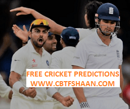 Free Cricket Betting Tips Online Help and Guide from Cricket Betting Tips Expert Cbtf Shaan of India Vs England 4th Test 30th August 2018 at Southampton