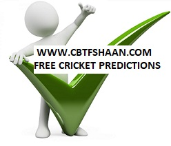 Free Cricket Predictions Daily for Punters.