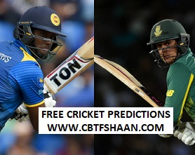 Free Cricket Betting Tips of Srilanka Vs South Africa Final T20 14th August 2018 at Colombo