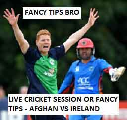Free Cricket Betting Session Or Fancy Tips
