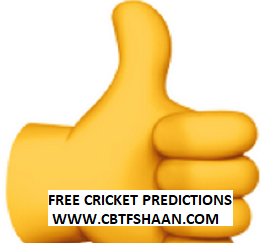 Today Free Jackpot Match Cricket Betting Tips of Kpl T20 2018 & Cpl 29th August 2018