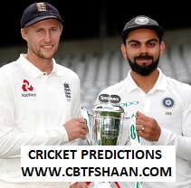 India Vs England 5th Test 7th September 2018 at Oval Cricket Betting Tips