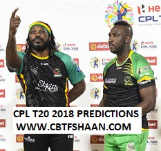 Cricket Betting Tips Free Online Help of Jamaica Talhawas Vs St Nevis Patriots Cpl T20 Eliminators 12 September 2018 at Guyana
