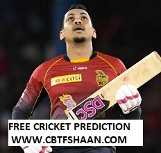 Free Cricket Betting Tips Online Help and Guide from Cricket Betting Tips Expert Cbtf Shaan of Trinbago Vs Guyana Amazon Warriors Cpl T20 2018 5th Sep 2018 at Trinidad