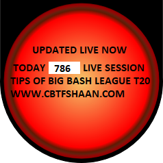 Free Live Cricket Match Session Or Fancy Tips Daily For All Cbtf Shaan Followers Daily