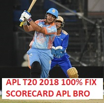 Free Cricket Betting Tips Online Help of Afghanistan Premier League T20 2018 Betting Predictions Scorecard.