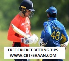 Free Cricket Betting Tips of England Vs Srilanka 5th Odi 23rd October 2018 at Colombo