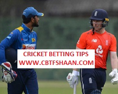 Free Cricket Betting Tips of England Vs Srilanka Only T20 27th August 2018 At Colombo