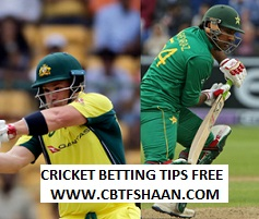 Free Cricket Betting Tips of Pakistan Vs Australia 1st T20 24th August 2018 At AbuDhabi