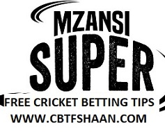 Free Cricket Betting Tips of Jozi Stars Vs Nelson Madela Mzansi T20 17th Nov 2018 At Johannesberg - Cbtf Shaan Cricket Betting Tips