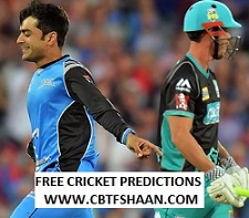 Cricket Betting Tips Free of Big Bash T20 Match 19th Dec 2018